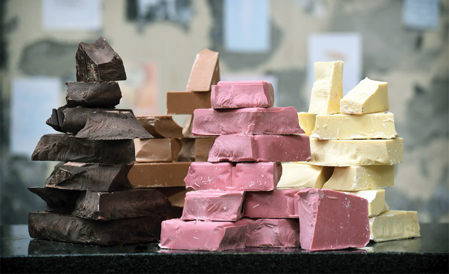 How Do Chocolates Have Their Color?